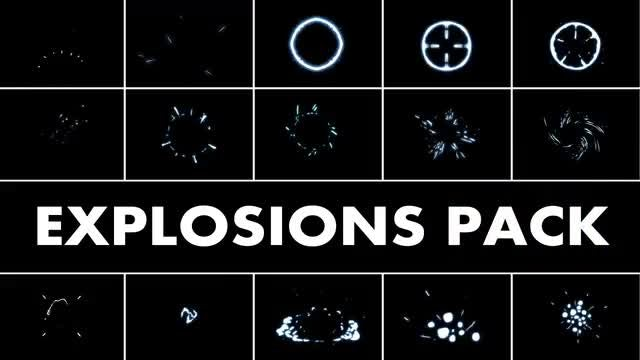 Explosion Elements Pack 2: Stock Motion Graphics