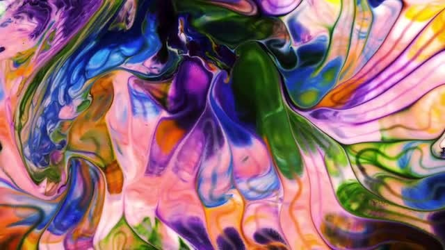 Colorful Ink Background: Stock Video