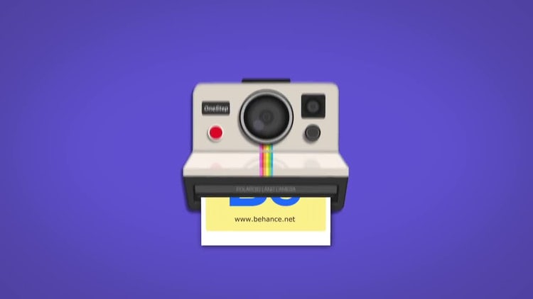 Polaroid Opener: After Effects Templates