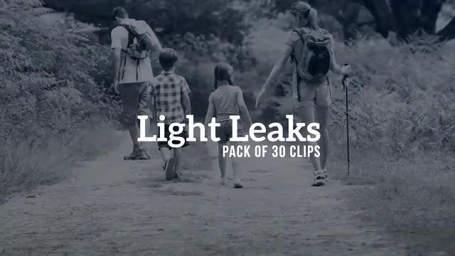 Light Leaks Pack: Stock Video