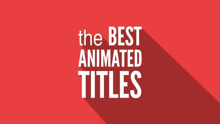 Long Shadow Titles: After Effects Templates
