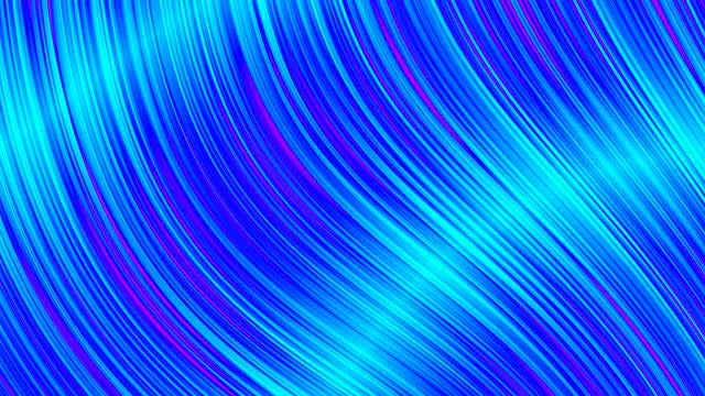Blue Shiny Curves: Stock Motion Graphics