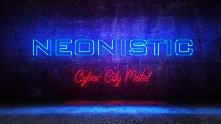 Neonistic: After Effects Templates