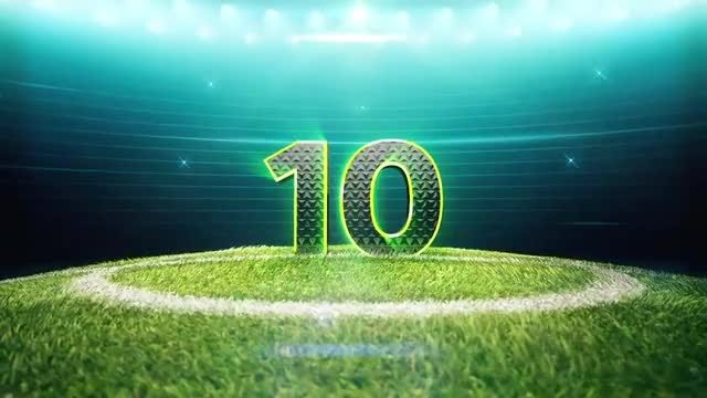 Soccer Top 10 Countdown Pack: Stock Motion Graphics