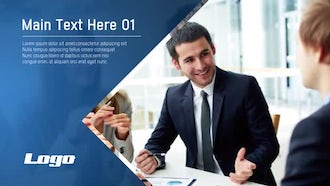 Corporate Modern Slideshow: After Effects Templates