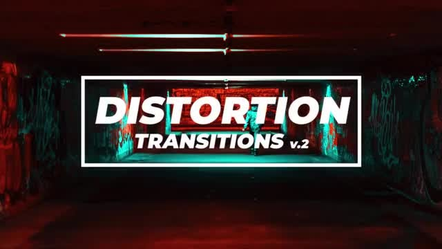 Distortion Transitions V.2: Premiere Pro Presets