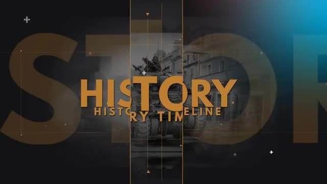 History Timeline: After Effects Templates