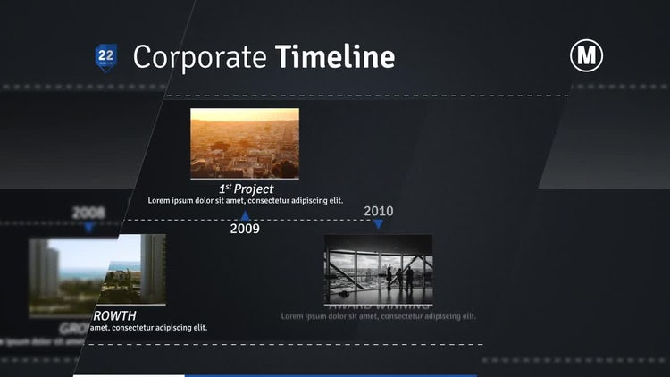 Complete Presentation After Effects Templates Motion Array - Timeline after effects template