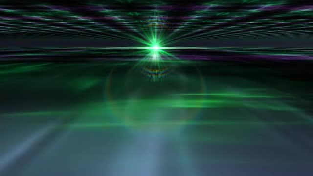 Futuristic Aurora 4K BG: Stock Motion Graphics