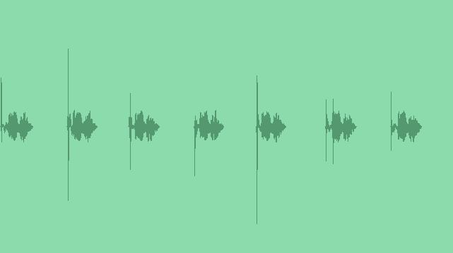 Minimalist Info-graphic Sound: Sound Effects