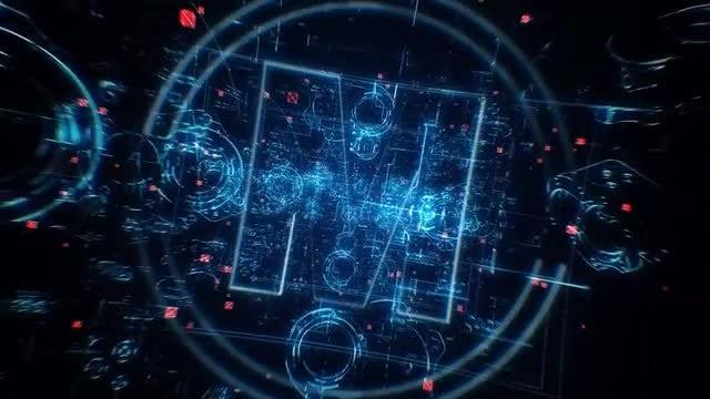 Blueprint Tech Logo: After Effects Templates