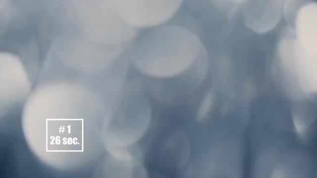 5 Bokeh Backgrounds: Stock Video
