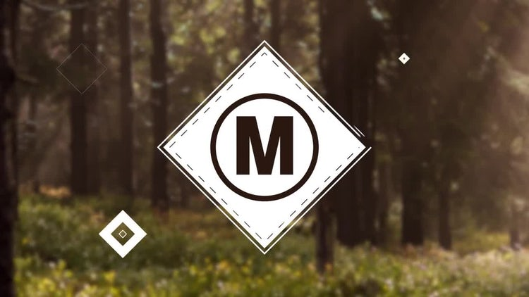 Simple Shape Logo: Premiere Pro Templates
