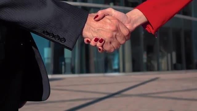 Handshake: Stock Video