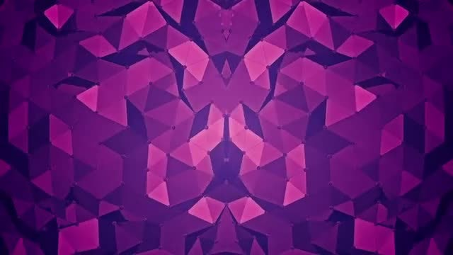 Abstract Background - Polygon Waves 02: Stock Motion Graphics