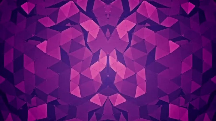 Abstract Background - Polygon Waves 02: Motion Graphics