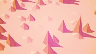 Abstract Background - Polygon Waves 03: Motion Graphics