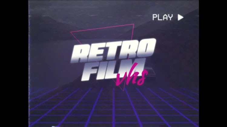VHS Retro Trailer: After Effects Templates