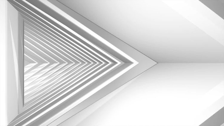 Futuristic Triangle Tunnel 02: Stock Motion Graphics