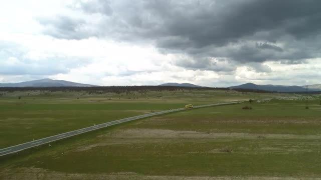 Rural Highway: Stock Video