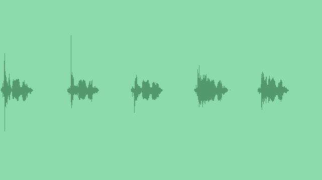 Futuristic Button: Sound Effects