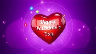 Background For Valentines Day: Motion Graphics