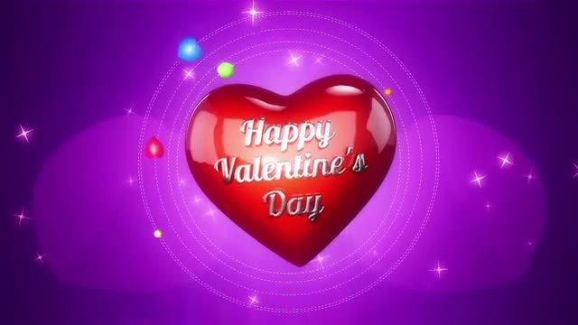 Background For Valentines Day: Stock Motion Graphics