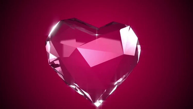 Diamond Heart.: Stock Motion Graphics