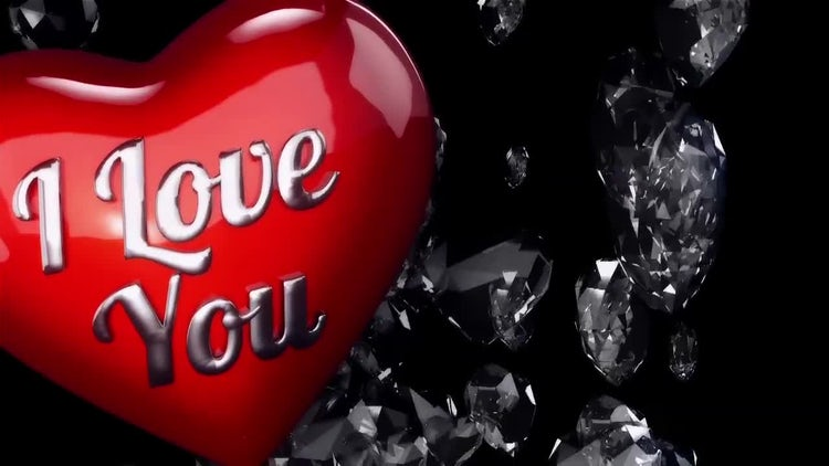 Background for Valentines Day and Wedding.: Stock Motion Graphics