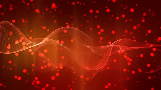 Romantic Red 4K: Stock Motion Graphics