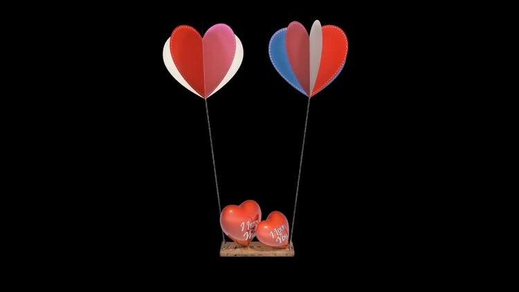 Swinging Hearts Animation: Motion Graphics