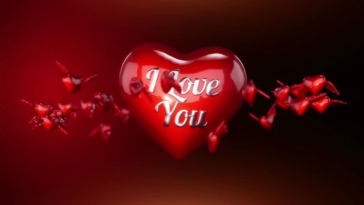 Valentines Day Heart: Stock Motion Graphics