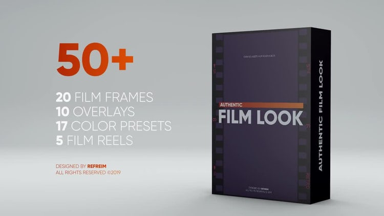 Authentic Film Look: After Effects Templates
