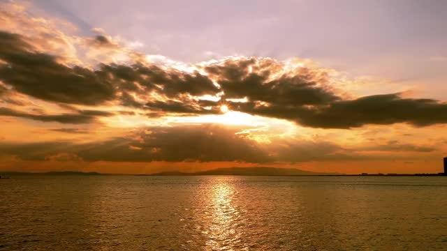 Lovely Sunset: Stock Video