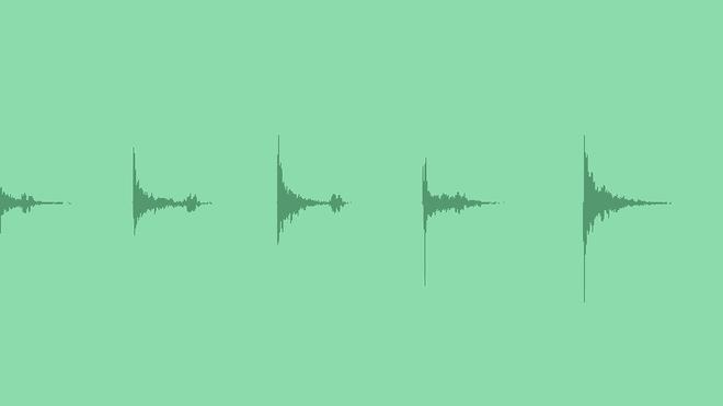 Horror Thriller Metallic Impacts: Sound Effects