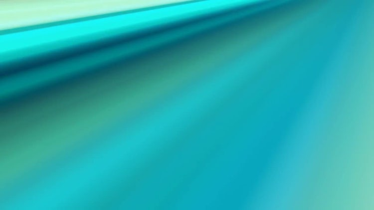 Soft Green Rays: Motion Graphics