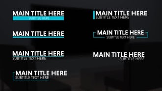 Charis Motion Titles: After Effects Templates