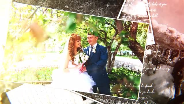 Wedding Photo: After Effects Templates