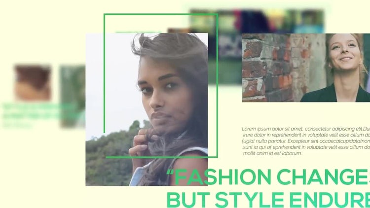 Fashion 2.0: After Effects Templates