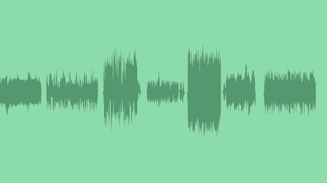 Infographic Background Texture: Sound Effects