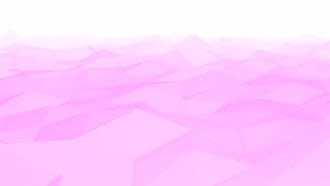 Pink Low Poly Waves: Motion Graphics