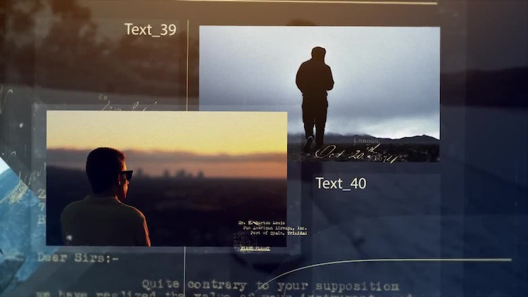 Vintage Memories: After Effects Templates