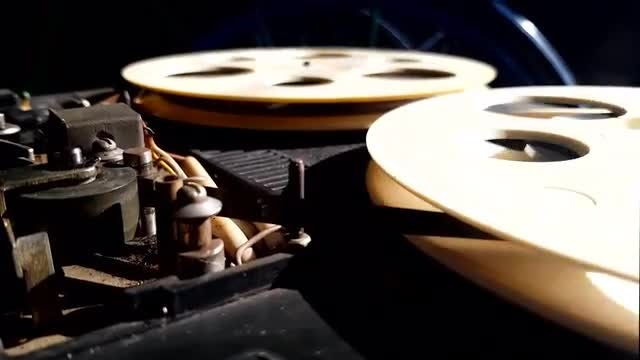 Reel Tape Record Player: Stock Video