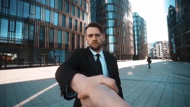 Shaking Hands: Stock Video
