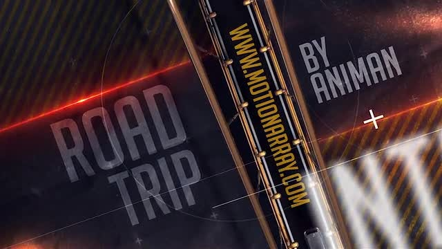 Road Trip Intro: After Effects Templates