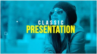 Classic Presentation: After Effects Templates