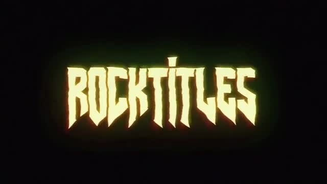 RocknRoll Titles: After Effects Templates