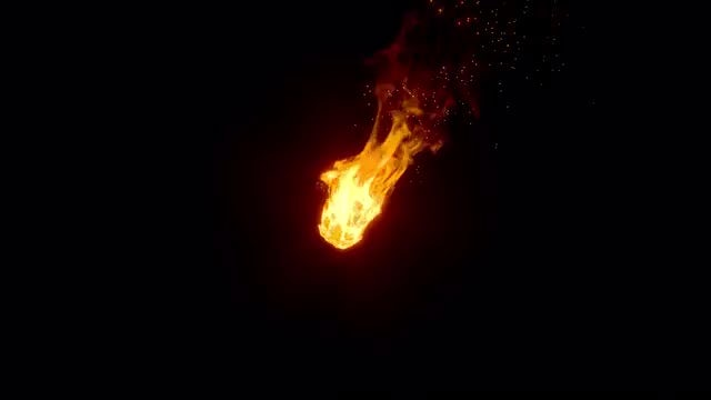 Fire Effect Overlay: Stock Motion Graphics