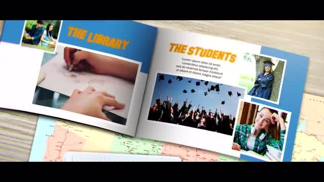 Year Book: After Effects Templates