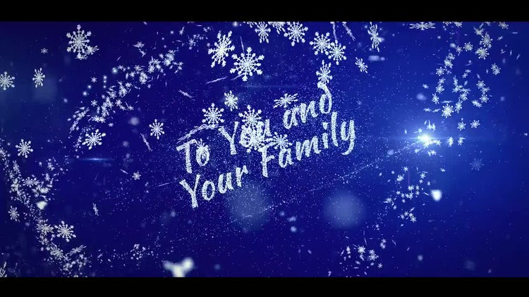 Christmas Greetings and Logo Opener: After Effects Templates